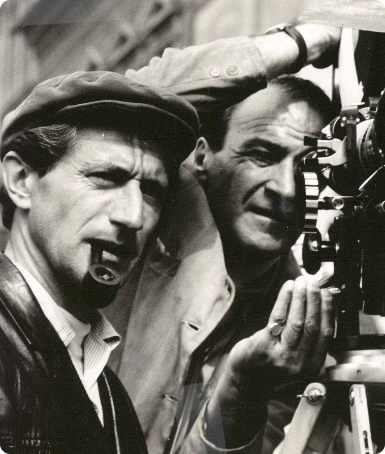John Guillermin With cameraman
