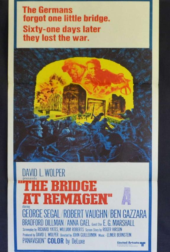 Bridge at Remagen-john-guillermin